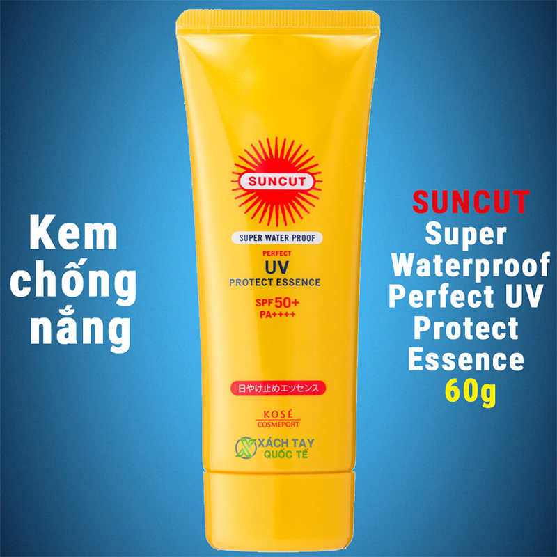 Kem chống nắng Kosé Protect Essence Super Water Proof 60g