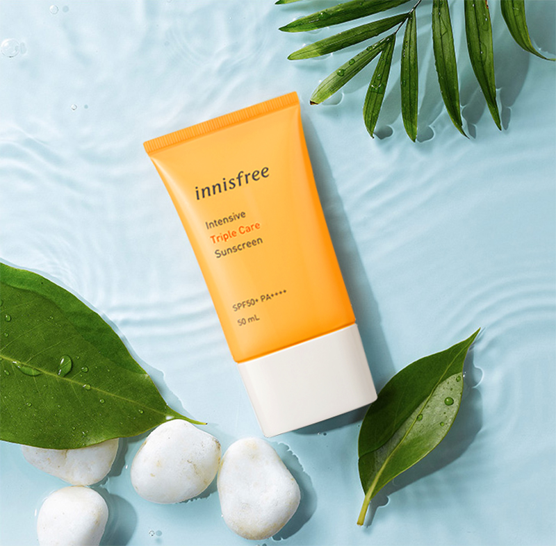 Kem chống nắng Innisfree Intensive Triple Care SPF 50+