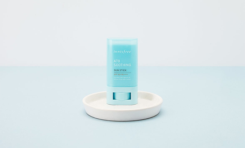 Chống nắng Innisfree Ato Soothing Sun Stick SPF 50+ 20g