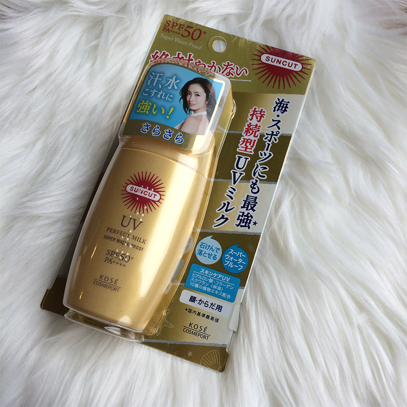 Kem chống nắng Kosé Perfect Milk Super Water Proof